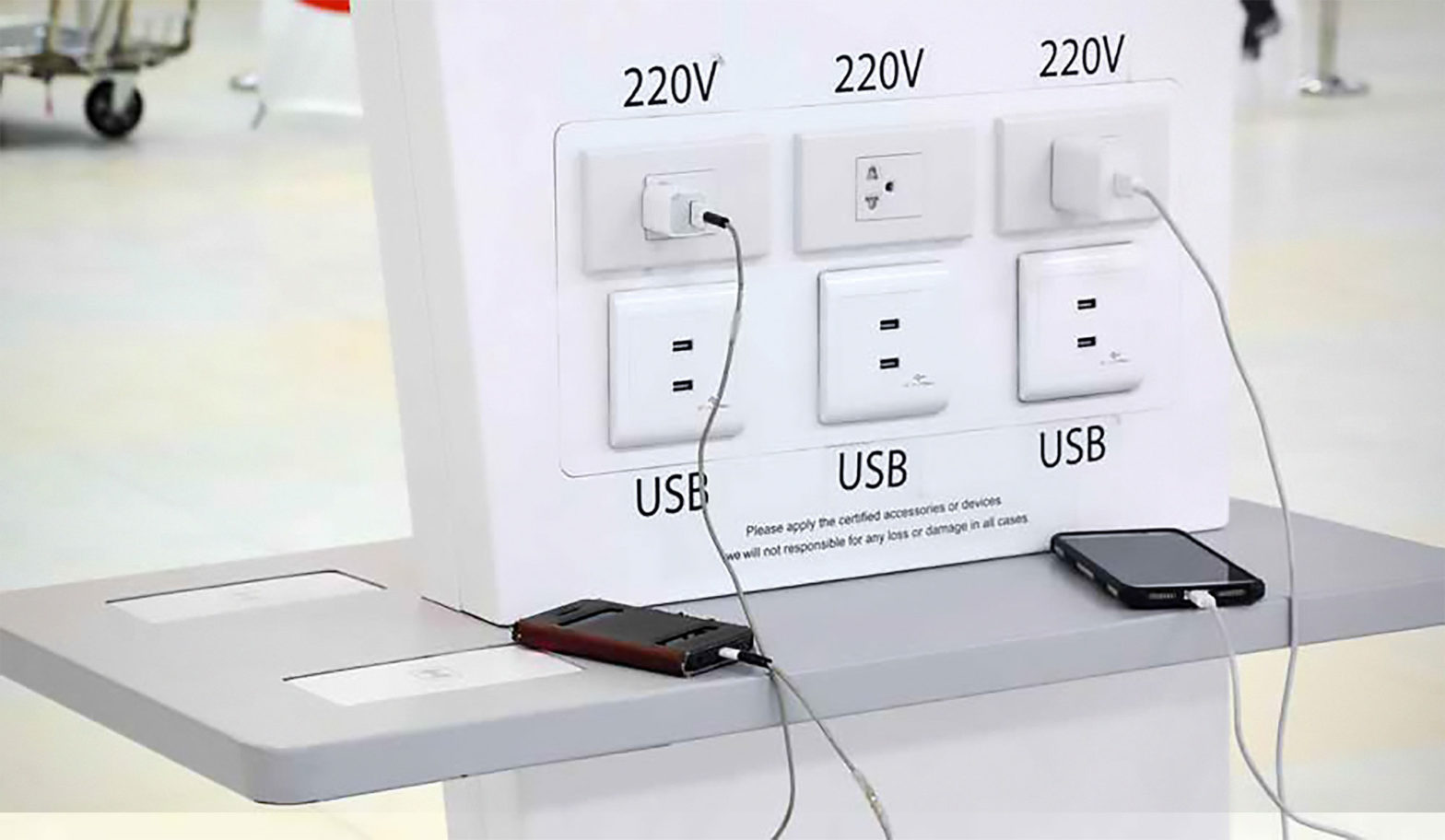 Stop Charging Phone With Public USB Ports