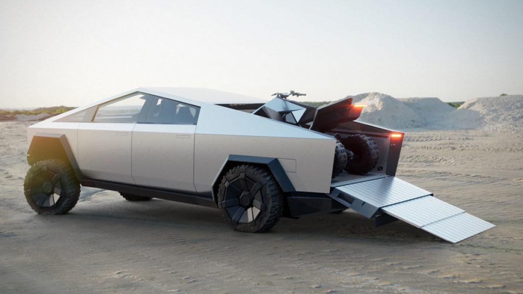 Tesla Cybertruck Electric Utility Truck