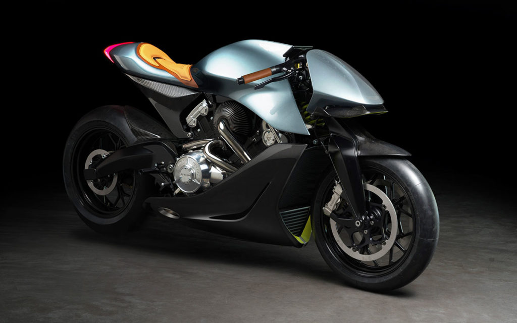 Aston Martin x Brough Superior Motorcycle