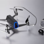 TIE Revolutionizes Imaging Drone With One-Hand Controlled Shift Red Drone