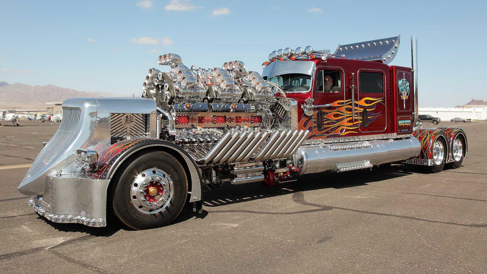 Thor 24 Custom Big-Rig Truck