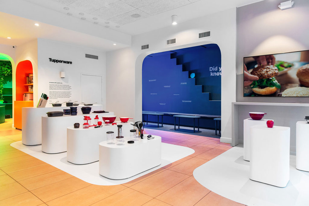 Tupperware TuppSoho Pop-up Store