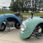 Fenders Of A Vintage VW Beetle Turns Out To Be The Perfect Body For Making Custom Scooters