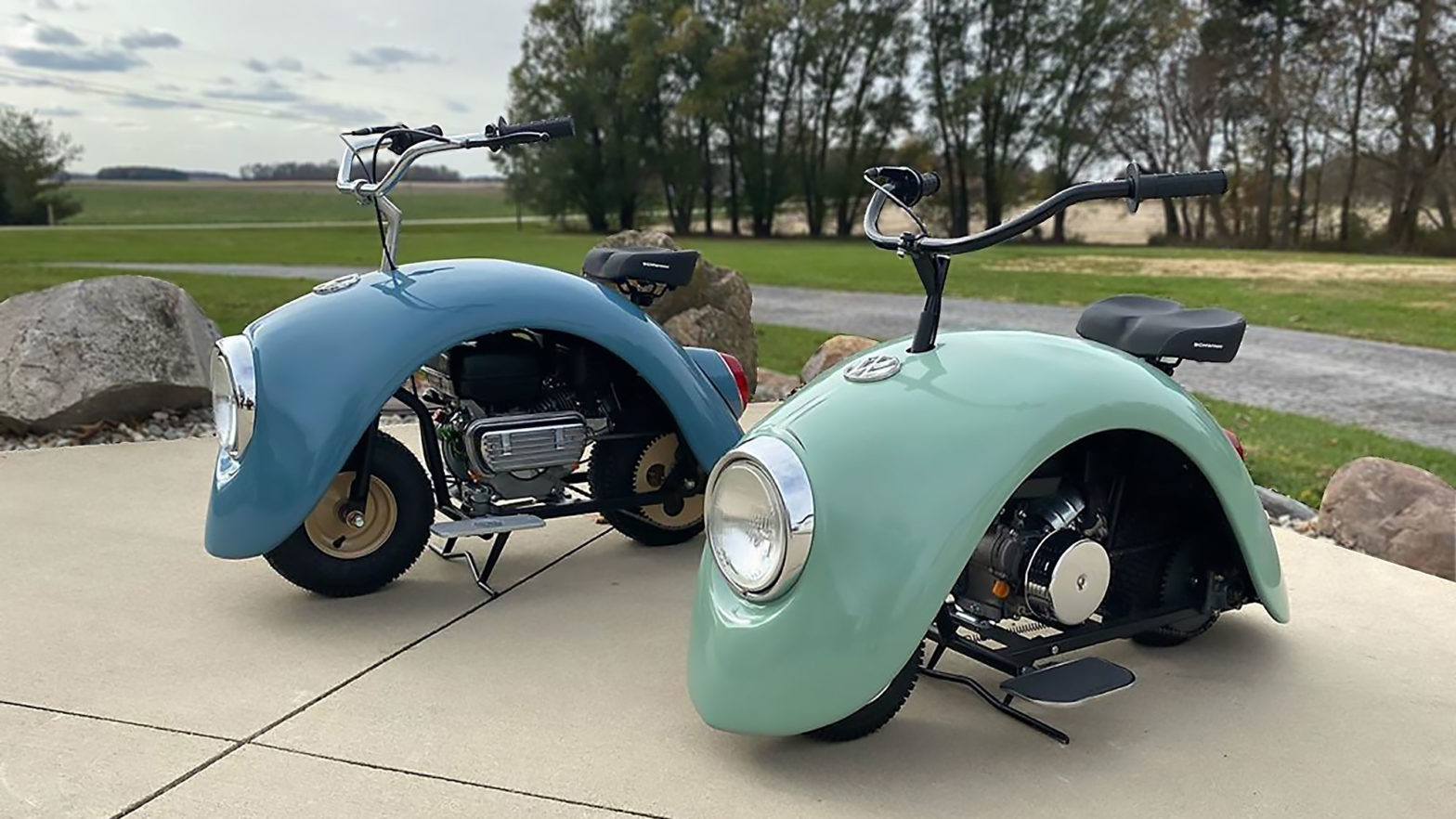 Volkspod Custom Scooter by Brent Walter