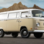 Volkswagen Turned A 72' Type 2 Bus Into An Electric Vehicle While Retaining The Classic Look