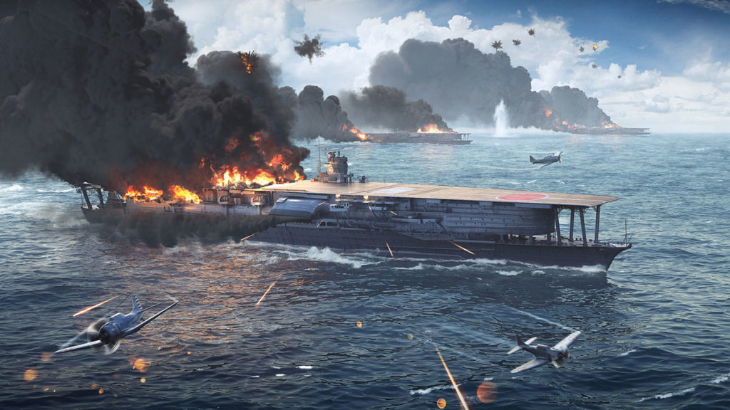 World of Warships New Midway Mission