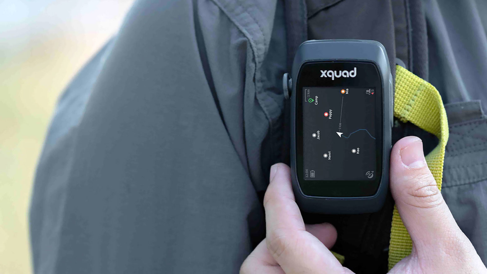 Xquad GPS Tracker for Groups