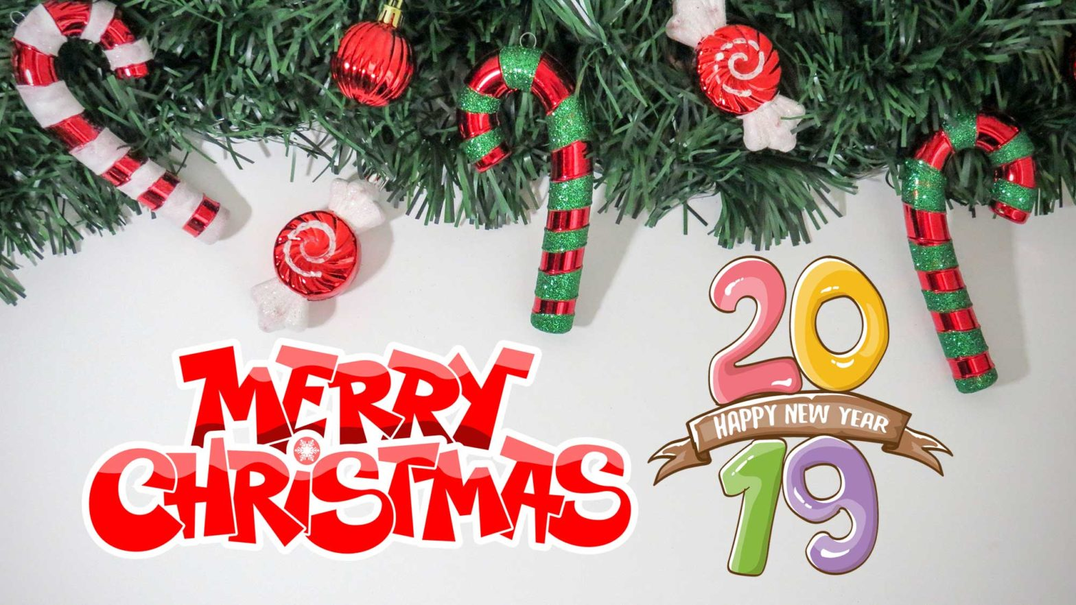 2019 Merry Christmas and a Happy New Year
