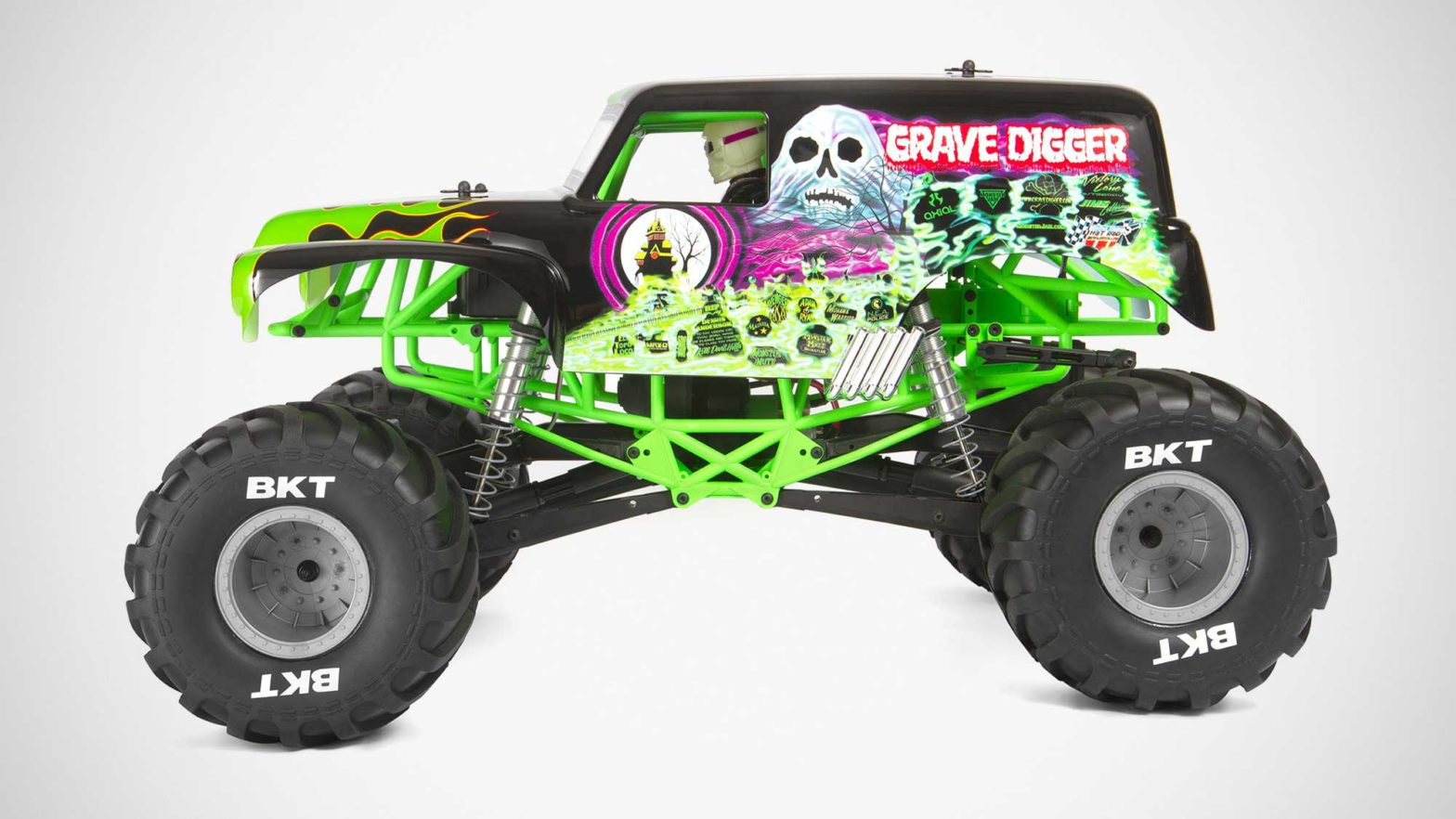 Axial Racing AXI03019 STM10 Grave Digger RC Truck