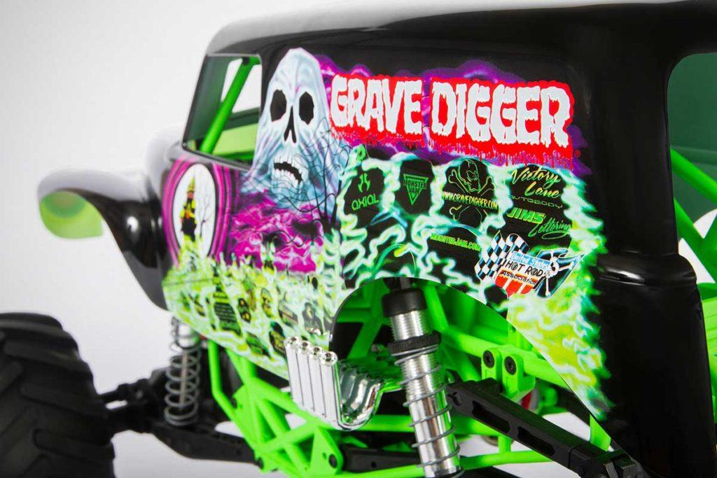 Axial Racing AXI03019 STM10 Grave Digger RC Truck