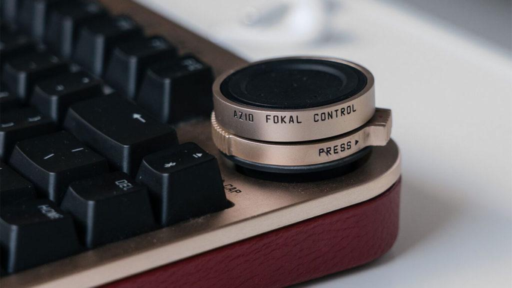 Azio Fokal Keyboard with Control Knob