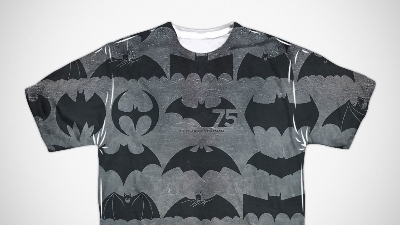 Batman 75 Years of Symbols Men's T-Shirt