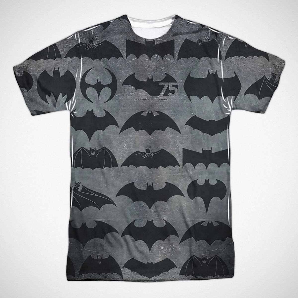 Batman 75 Years of Symbols Men's T-Shirt