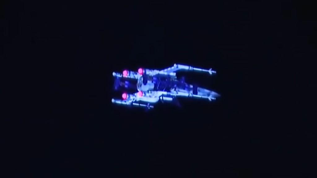 Boeing Star Wars X-Wing At Disneyland