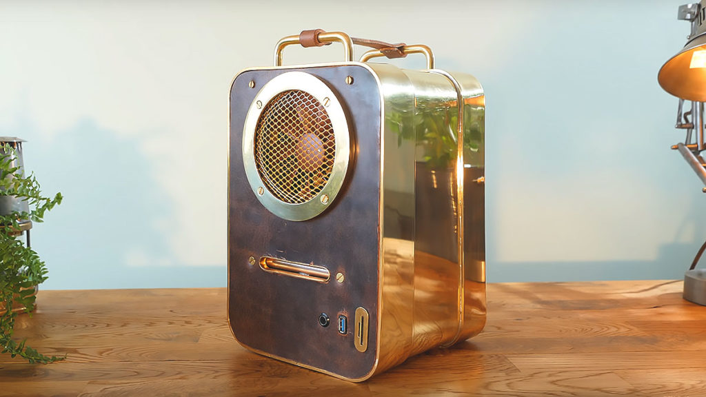 Brass and Leather Custom PC