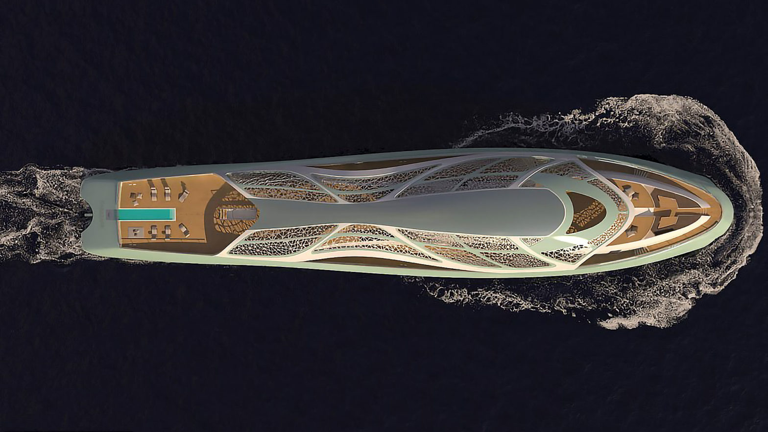 Carapace Superyacht/Submarine Hybrid