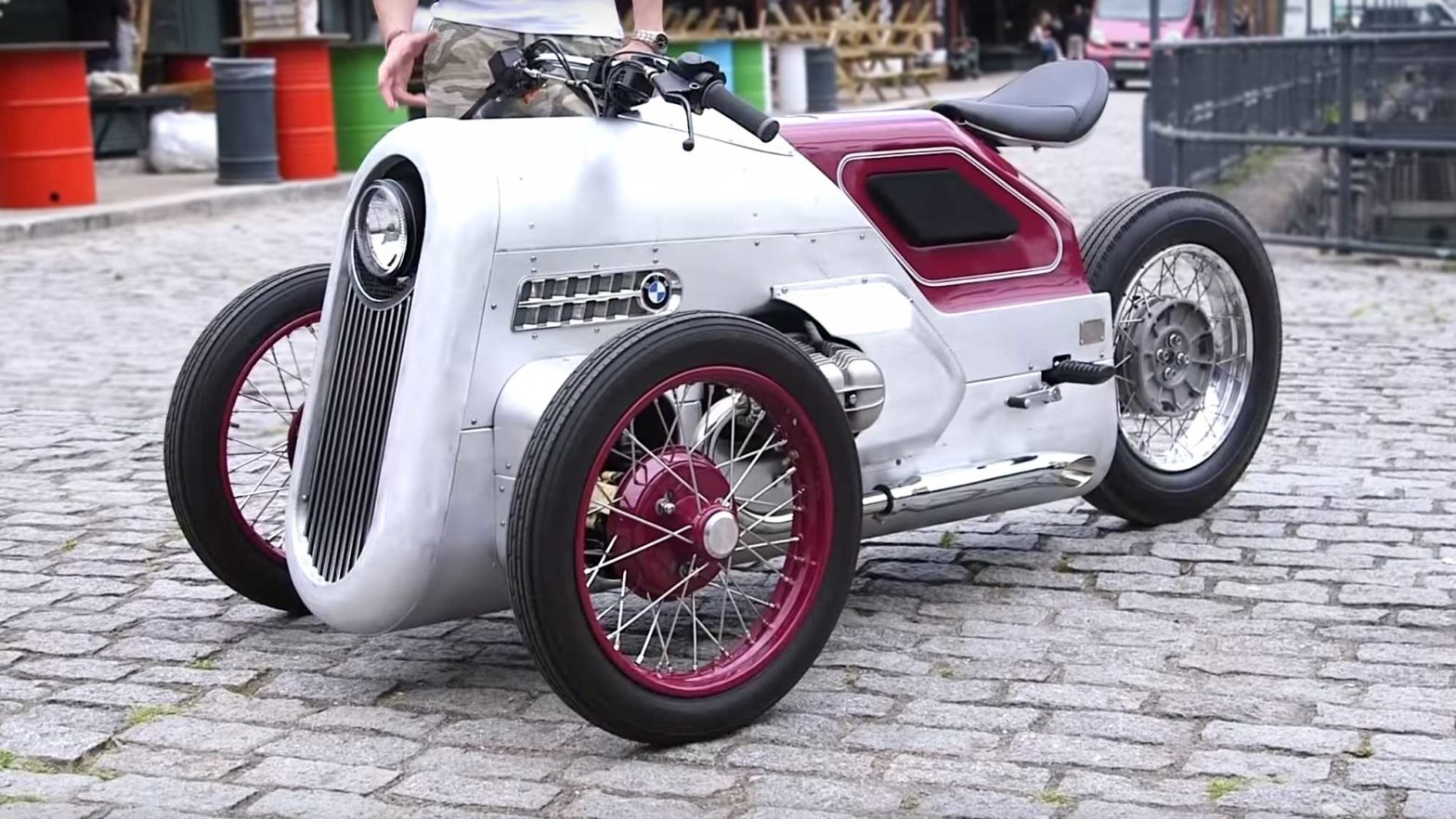 Custom BMW R100 Shed Built Trike