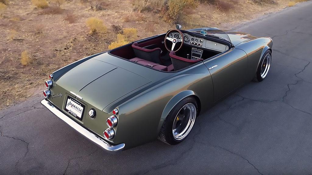 Custom Datsun 1600 Roadster by Chris Bishop