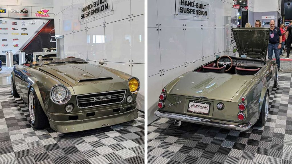 Custom Datsun 1600 Roadster by Chris Bishop