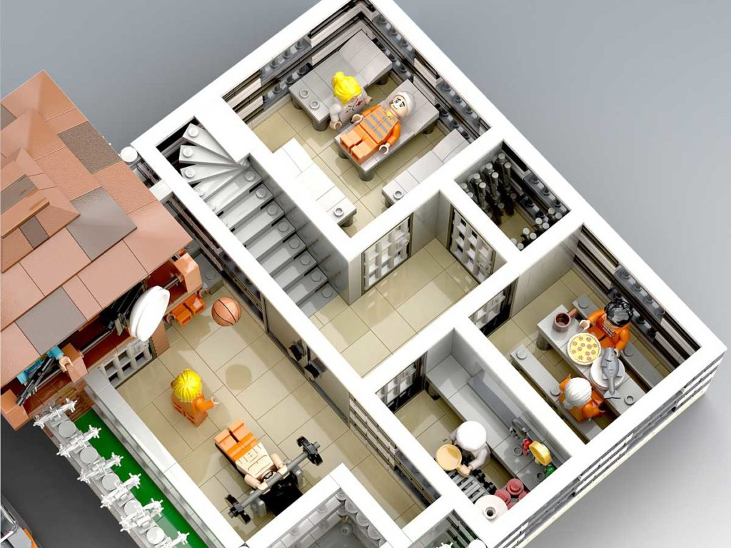 Custom LEGO Maximum Security Prison Set