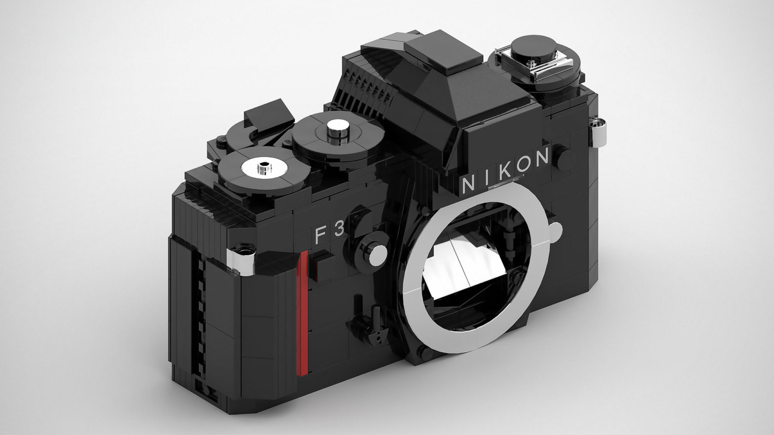 Custom LEGO Nikon F3 Film SLR Camera