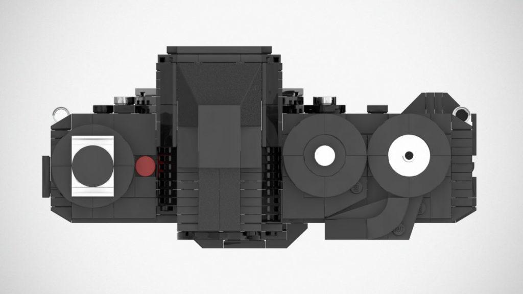 Custom LEGO Nikon F3 Film SLR Camera