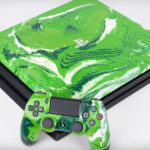 PS4 Pro Customized Look With Hydro Dipping Looks Dope, But Seriously, Don't Do It