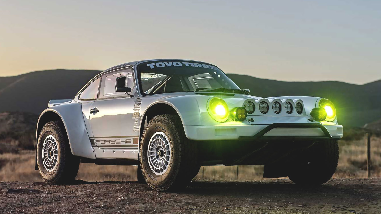 "Custom Porsche ""Baja 911"" by Russell Built"