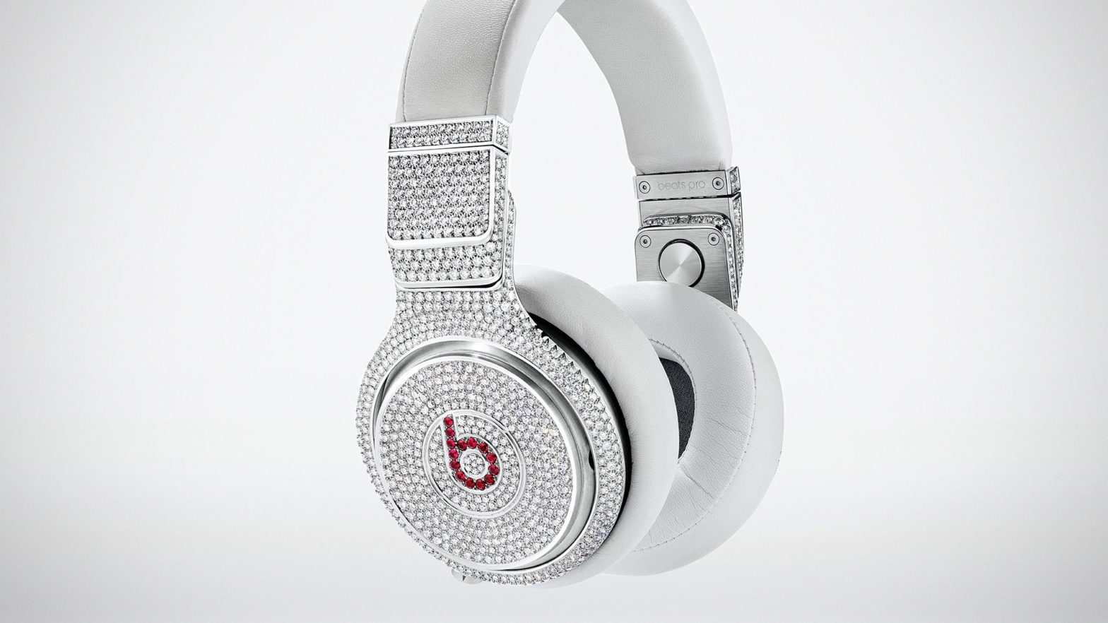 Diamond and Ruby Beats Pro Headphones