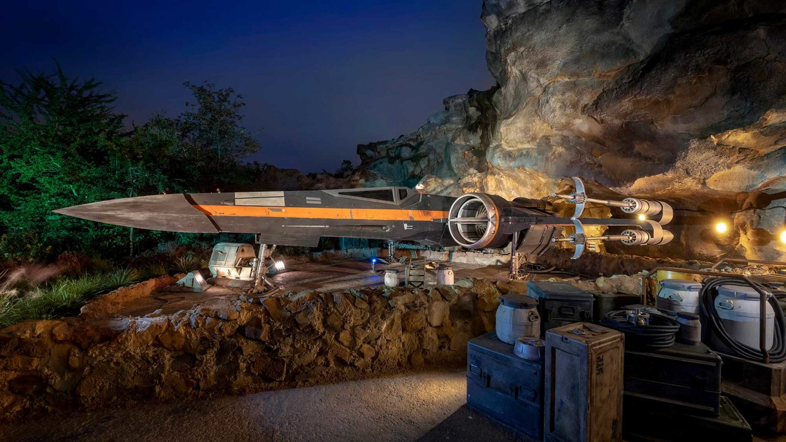 Disneyland New Star Wars Ride Opens