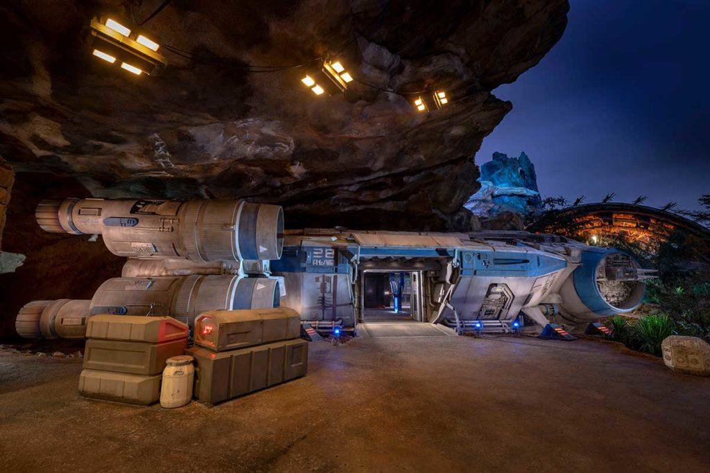 Disneyland New Star Wars Ride Opens
