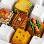 Keycaps Made To Look Like Real World Food Looks Absolutely Delectable