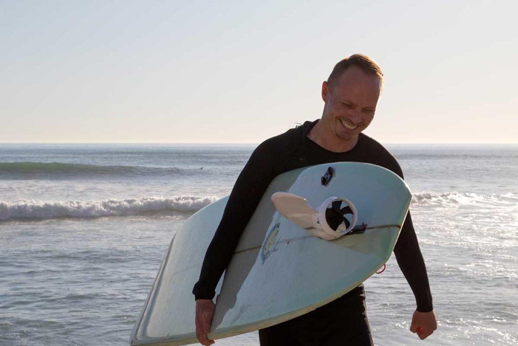 Boost Surf Electric Motorized Fin for any Surfboard
