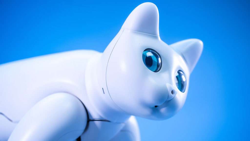 Elephant Robotics MarsCat Bionic Cat Home Robot