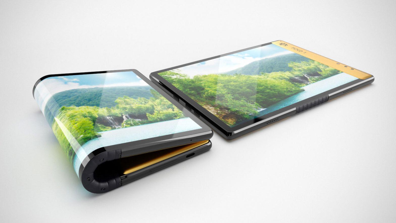 Escobar Fold 1 Folding Smartphone