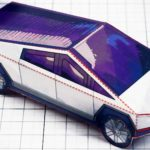 Before A Cybertruck Model Kit Comes Along, You'll Have To Make One Out Of Paper Yourself