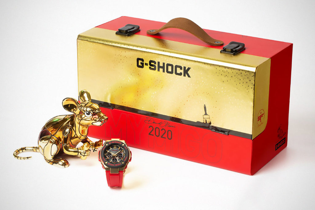 G-Shock x David Flores Year of the Rat Watch