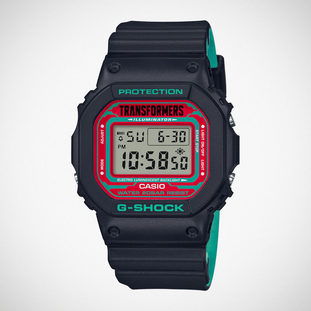 G-Shock x Transformers DW-5600TF19-SET