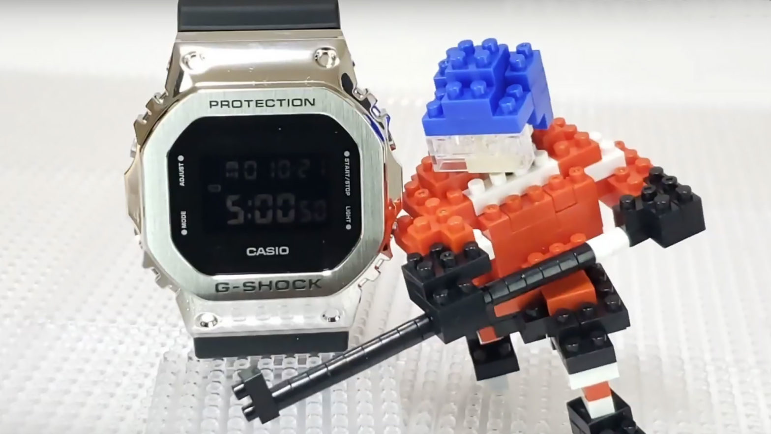 G-Shock x nanoblock Collab Movie