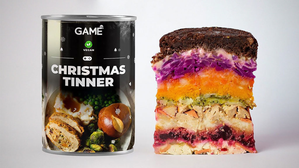 GAME Christmas Dinner-In-A-Can