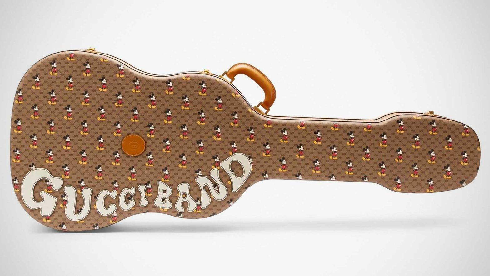 Gucci Mickey Mouse Guitar Case