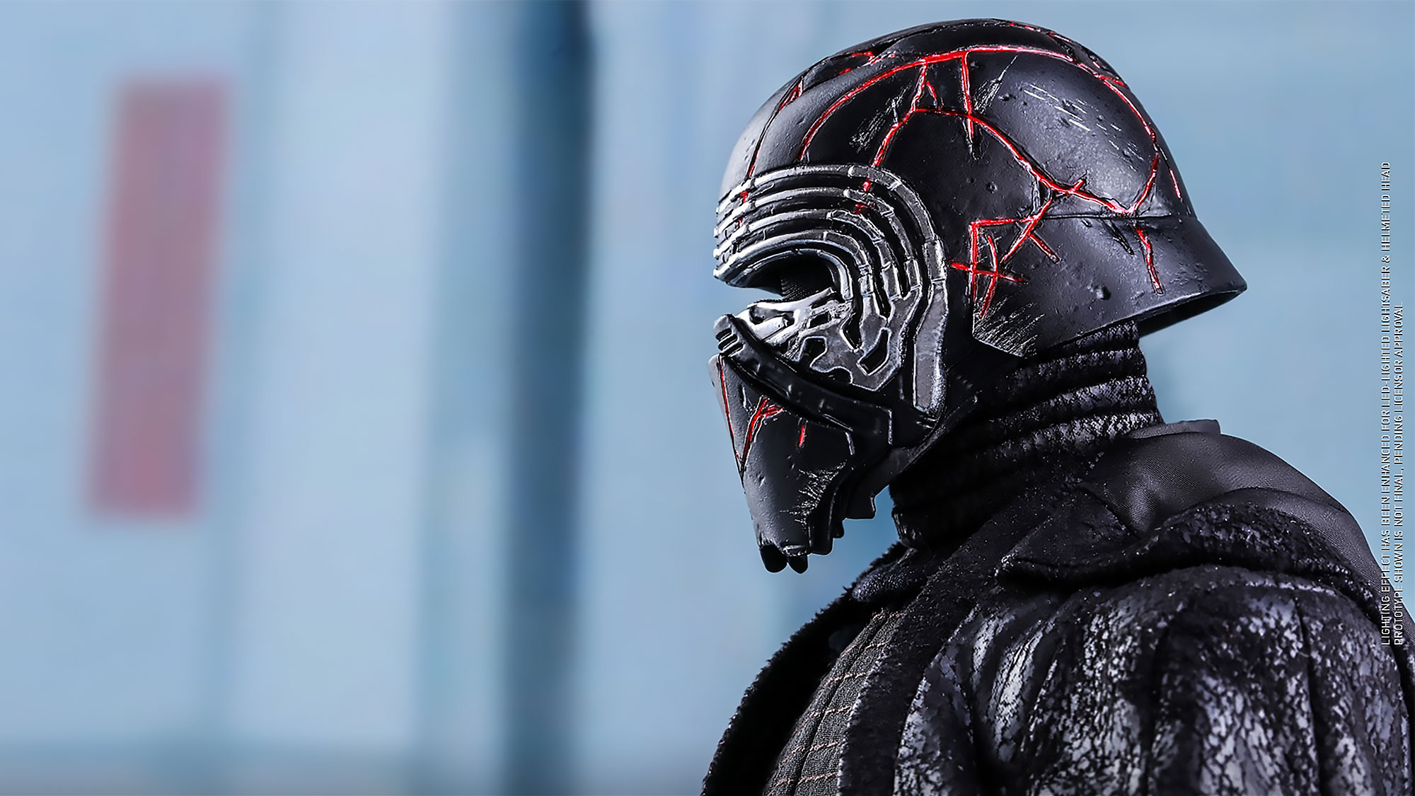 The Cracks On This Star Wars The Rise Of Skywalker Kylo Ren Figure Glows Red Shouts