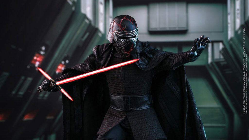 Hot Toys Kylo Ren 1/6th Collectible Figure