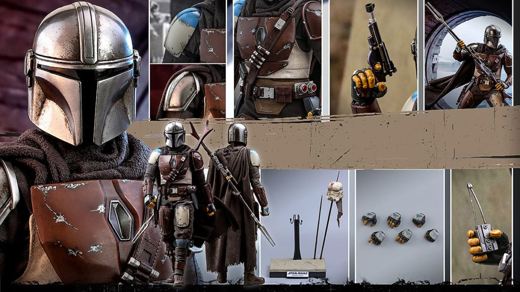 Hot Toys The Mandalorian 1/6th Scale Collectible Figure