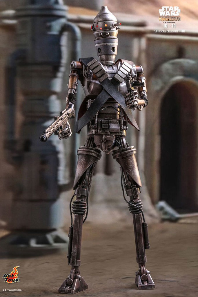 Hot Toys The Mandalorian IG-11 1/6th Scale Collectible Figure