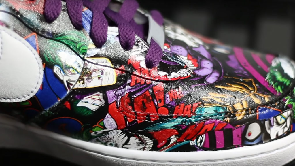 Hydro Dipped Nike Air Force 1 Joker Shoes