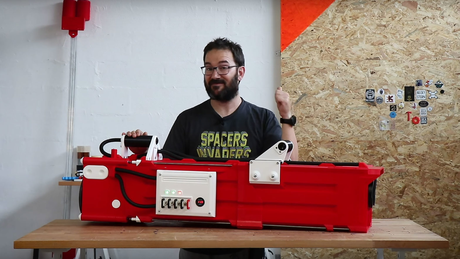 Ivan Miranda World's Largest NERF Gatling Gun