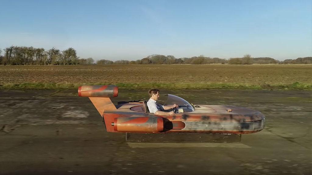 Jet Powered Star Wars Landspeeder