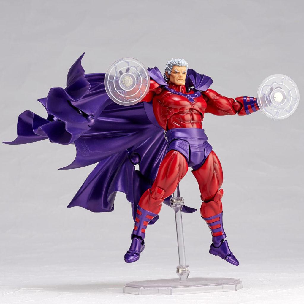Kaiyodo Revoltech Magneto Action Figure