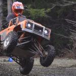 KTM 525cc Motor Swap Gave Kid Trax Land Rover Defender The Power It Deserves